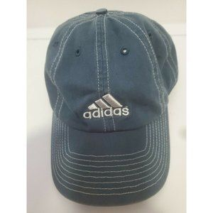 Adidas Baseball Cap Teal with Silver Stitching